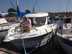 """Båden """"Flyvefisken"""" -  Aabenraa"""